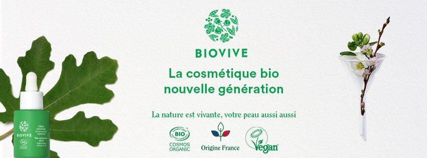 BIOVIVE : notre choix pour une cosmétique BIO nouvelle génération et madeinFrance
